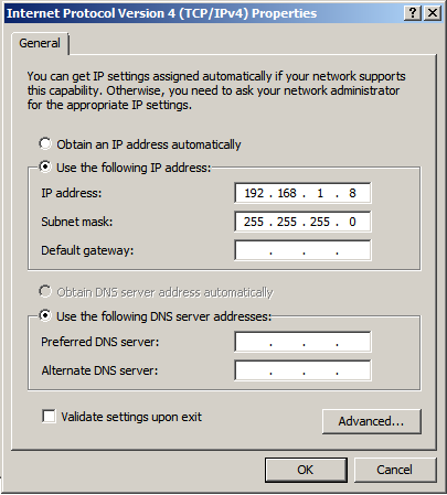 windows 2008 ipv4 properties