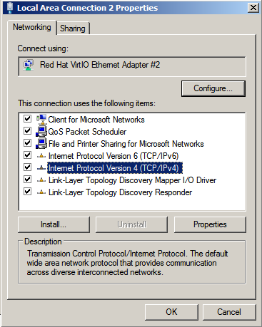 configure private ip