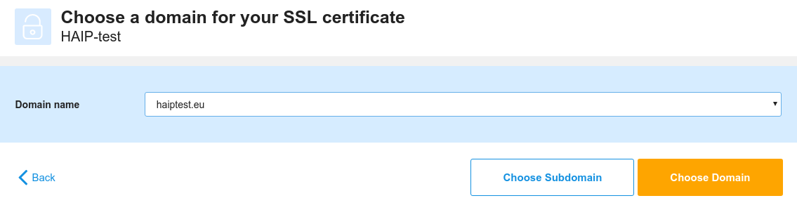How do I install an SSL-certificate for HA-IP? | TransIP