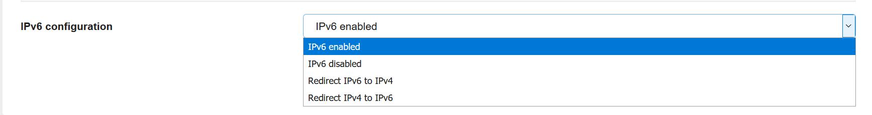 ha-ip ipv6 configuration