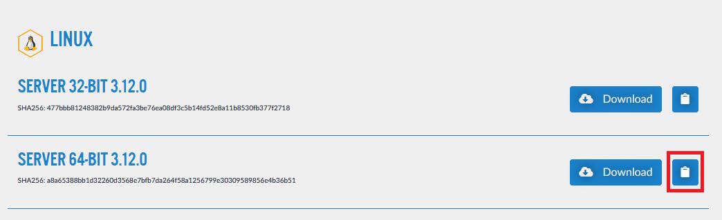 teamspeak linux server download