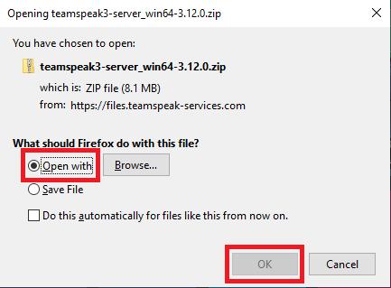 teamspeak windows server download open