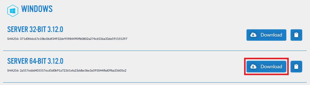 teamspeak windows server download