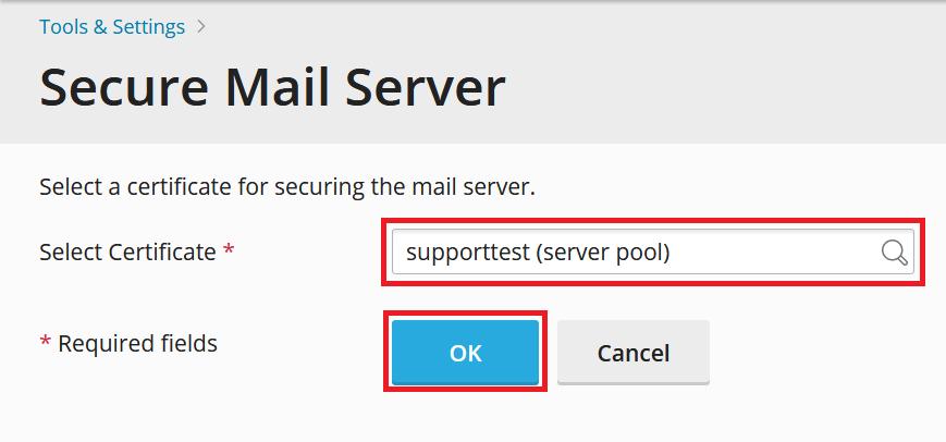 plesk secure mail server