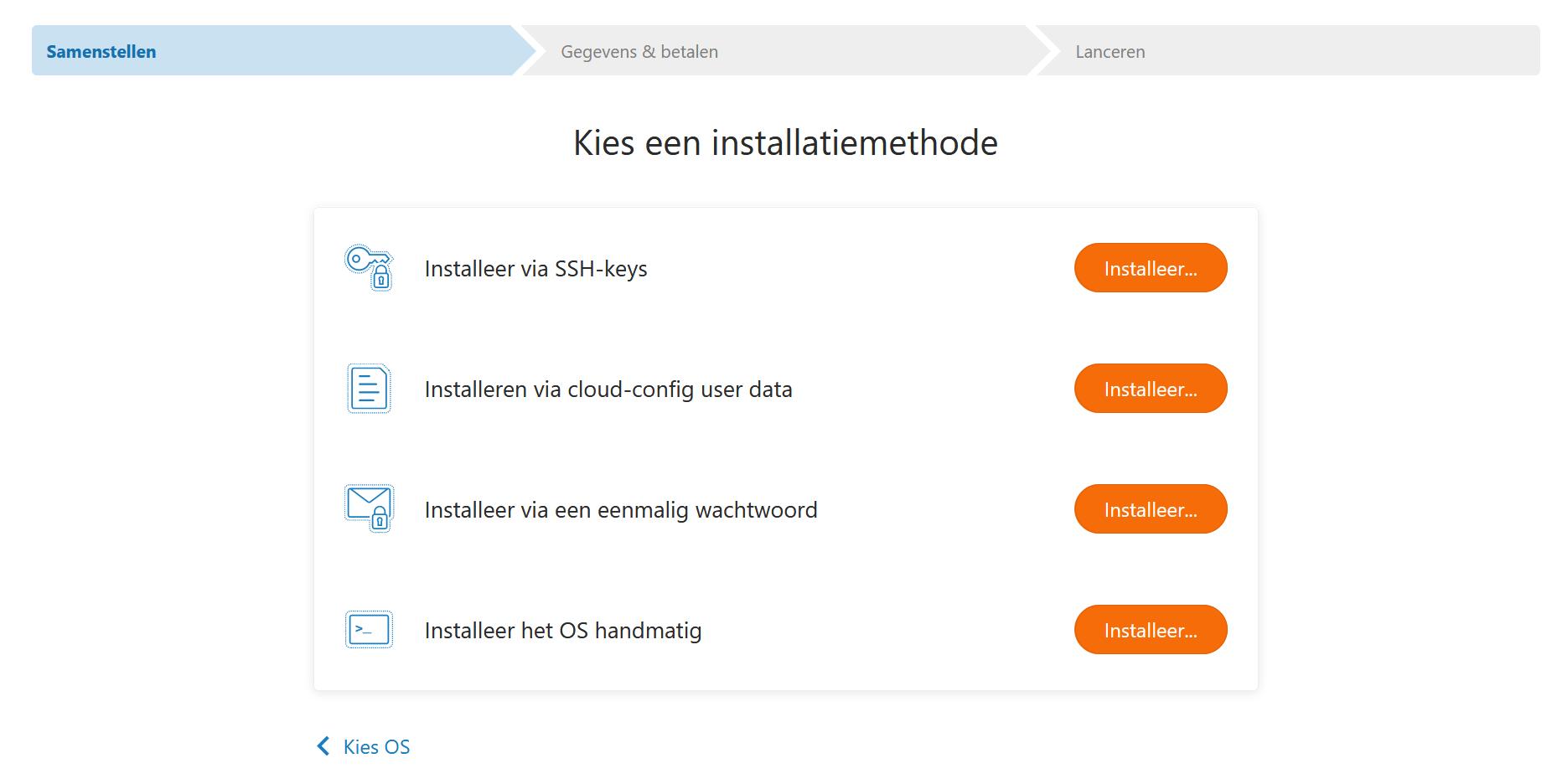 vps fast installs kies methode